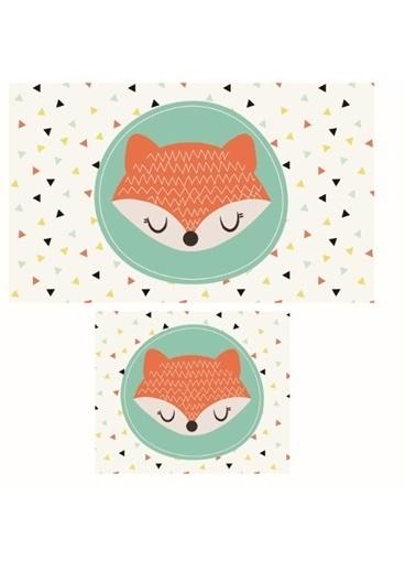 Soley Fox Djt. 2 Li Banyo Paspas Seti Klozet Takımı Renkli